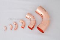 90 degree copper long radius elbow