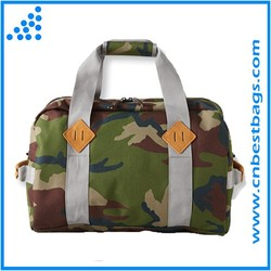 camouflage and black shoulder bags Field canvas tote bag