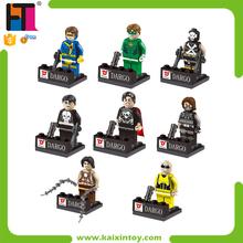 Hot Sale Plastic Education Blocks Animal Figurine