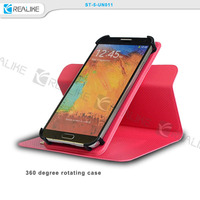 universal funny cheap mobile phone cases,ultra thin PU leather case for samsung galaxy note 3,free sample