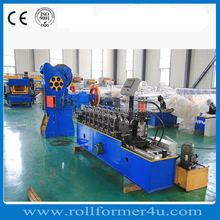 high speed L shape metal ceiling wall angle roll forming making machine