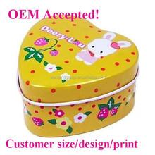 beautiful design heart shaped walmart gift tin boxes