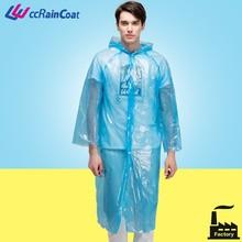 Japan plastic rain coat rain wear