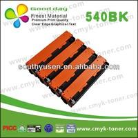 High quality Wholesale Compatible Laser Color Toner cb 540a 541a 542a 543a for Hp Color LaserJet CM130/1312/1312NFI Toner