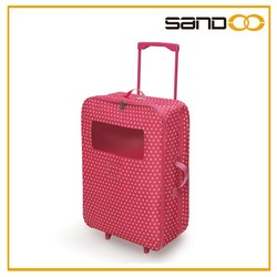New products in china lovely beautiful kids trolley bag