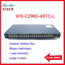 Used cisco 2960 switch WS-C2960-48TC-L