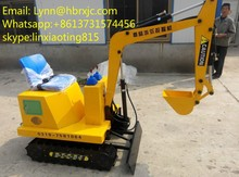 2015 best quality mini kids toy Excavator learning machine