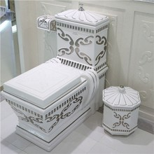 Unique Design Luxury Bathroom Ceramic Sanitary Ware Toilet Bowl