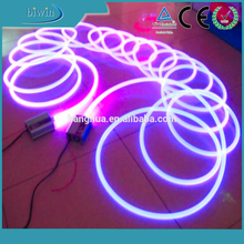 PVC Solid Core Side Lighting Fiber Optic Light Cable For Swimming Pool