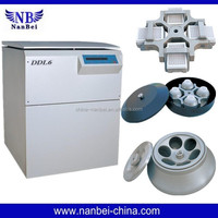 Microprocessor control large capacity function of centrifuge machine