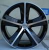 chrome auto steel car steel wheel steel rim for sale 20*9j wheels