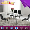 Dining room furniture best sale table tempered glass table