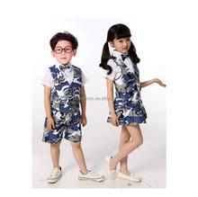 Hot Fashion Korean Kids Set,High Quality Camouflage Suit
