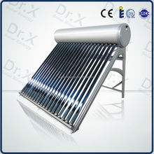 100L to 300L compact pressurized vacuum tube solar water heater system for sale