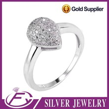 Moroccan wax setting cubic zirconia stone 925 sterling silver jewelry