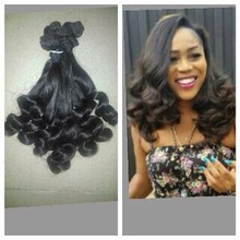 Hot Selling in Nigeria 7A Funmi Hair Brazilian Human Hair Sew in Weave