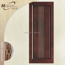 Solid teak wood door price for promotion