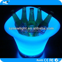 illuminated ice bucket .good partner for get together.flash led light and waterproof
