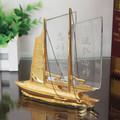 artesanal de cristal de vidro em miniatura do navio modelo de escala