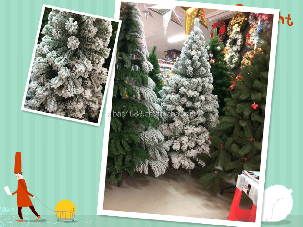 150cm Artificial Snowing Christmas Tree High Quality
