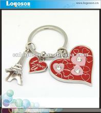 Little Charms French Eiffel Tower Keychain