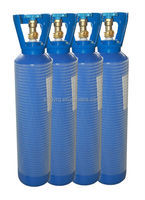 Refillable steamless oxygen cylinder WMA140-14-15