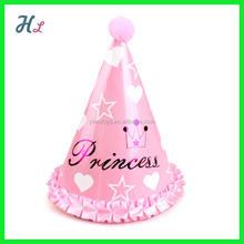 princess paper hats to decorate