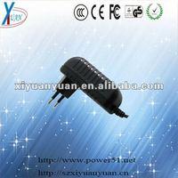 5V 2a 6v 1a 7v 1a 9v 1a 12v 1a 24v 500ma switching power adapter & charger EU plug