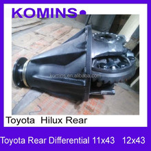 12x43 11x43 Toyota Hilux Rear Differential