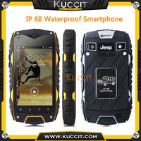 original Jeep Z6 MTK6572 Dual Core IPS rugged Smartphone IP68 Waterproof phone GPS Android Dustproof Czech Greek Hebrew