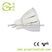 low price high quality epistar chip 3 years guarantee 5w smd MR16 led ceramic spotlight