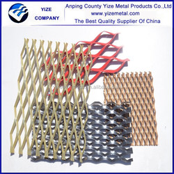 Low price high quality expanded metal mesh home depot/Diamond Mesh Lath/Metal fence panels