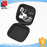 2015 high quality fashion pu leather eva case for earbud and car charger