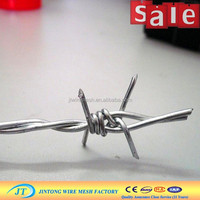 low carbon galvanized drawing barb wire