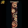 HOT SALES Elegant led curtain wall light themed party decorations