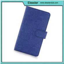 money pocket jean cloth flip case for samsung galaxy note 5