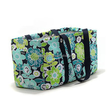LARGE UTILITY tote beach laundry Bag gift bag in Best Buds