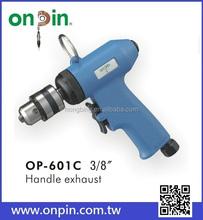 "OP-601C (Gear Type) 3/8"" Air Drill ,Quick Forward Reversible Drill / Mini Air Drill"