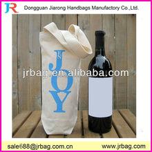 Durable classical cotton canvas wine bags,wine bottle tote bag
