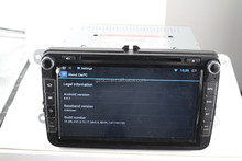 8 inch HD 1024*600 4.4.2 android car dvd radio for VW Support DVR TPMS Front Camera WS-9449