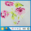 Elegant Rose Printed Polyester Nonwoven Fabric For Wallpaper