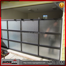 aluminum glass door for garage,4S shop