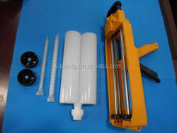 400ml 1:1 2:1 caulking adhesive sealant epoxy gun/plastic manual epoxy cartridge gun/dispensing AB glue gun