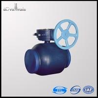 DIN Welding Ball Valve DN150 Water Supply Ball Valve PN16 PN25