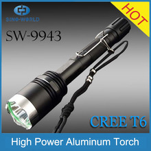 2015 hot products cheap goods from China supplier alibaba website super bright led long range torch rechargeable led light torch