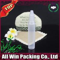 30ml unicorn bottle pen e liquid bottles colorless transparent childproof cap plastic PE bottle