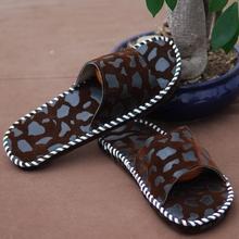 Venta al por mayor de cuero moda deslizador de la playa de las sandalias de hombre