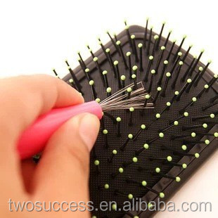 plastic handle embedded hair remover comb cleaner .jpg