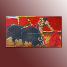 New Painting Best Wall Art Decoration Handmade Abstract Matador Oil Painting