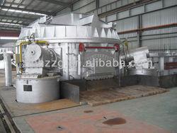 factory price aluminium melting holding furnace